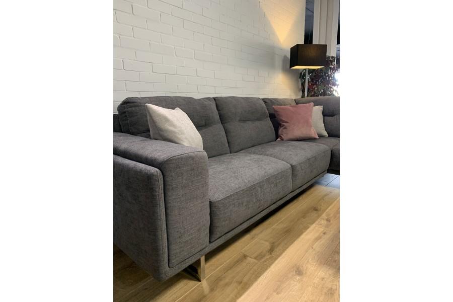 Brooklyn corner sofa Truffle fabric - Right Hand
