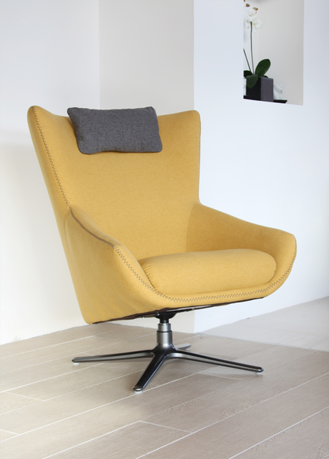 soho stylish swivel chair